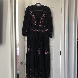 Boho Anthropologie Maxi Dress